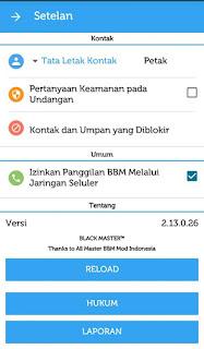 BBM Mod Official 2.13.0.26 Apk Terbaru Gratis 2016