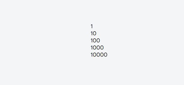 menampilkan daftar statis dari Data Array angka1
