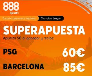 888sport superapuesta PSG vs Barcelona 10-3-2021