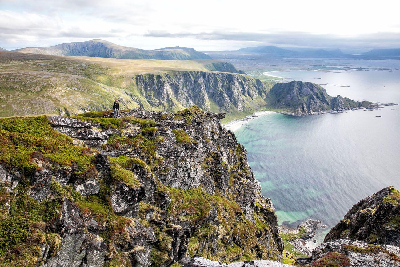 Гора Мотинд и прибрежная тропа Став-Блейк в Норвегии