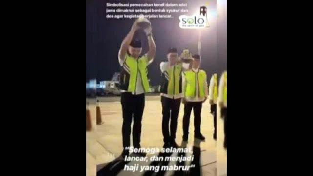 Ritual Pecah Kendi Saat Pelepasan Jamaah Haji, Fahri: Garuda Singgung Aqidah Umat Islam
