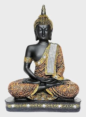 Sitting Buddha Idol Statue