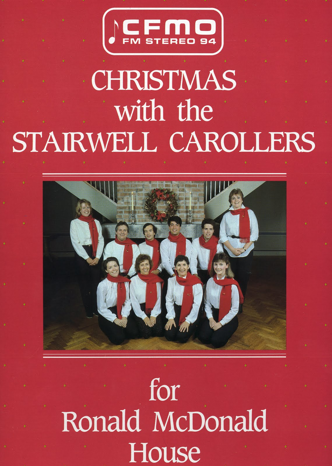 The Stairwell Carollers on Vinyl -- available on Ebay and in a second hand store near you