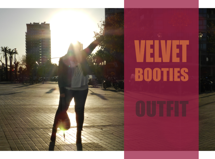 Velvet Booties · OUTFIT