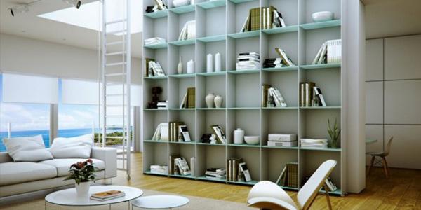 Merancang Desain Perpustakaan dalam Rumah Minimalis