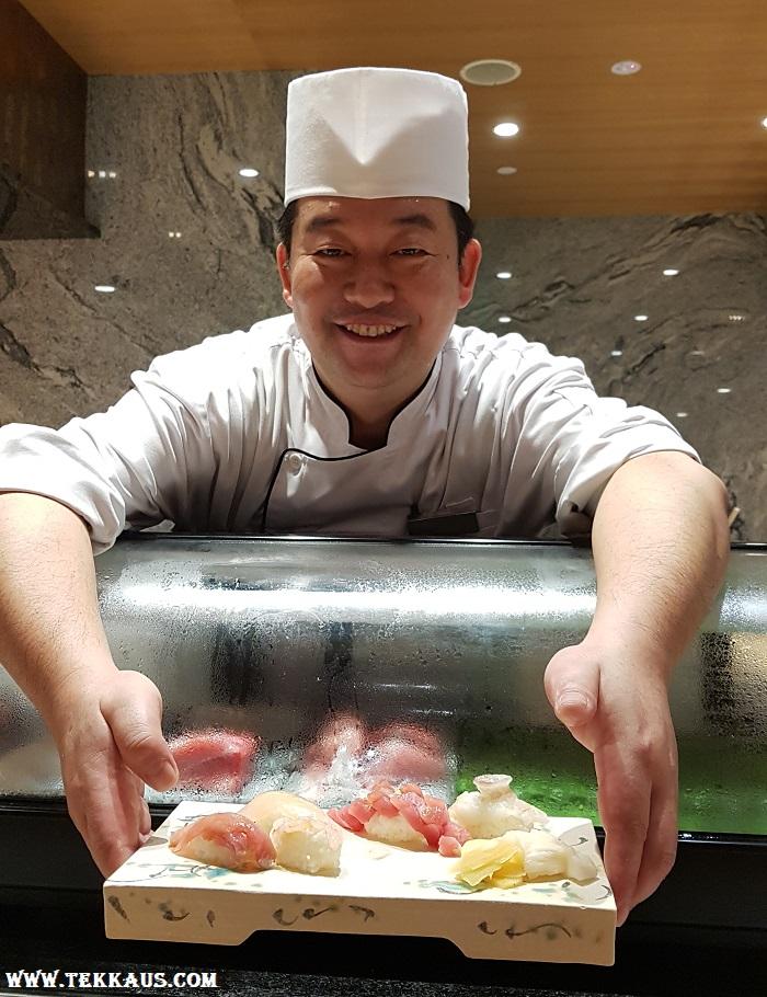 Miyabi Sheraton PJ-Omakase Nigiri Sushi Menu