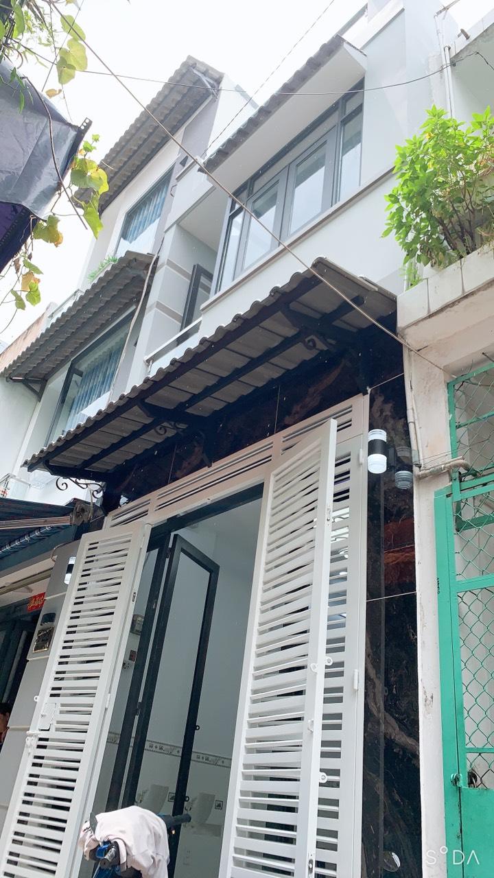 Bán nhà hẻm 3m đường Võ Trứ phường 9 Quận 8 cách Mặt tiền Hưng Phú 20m