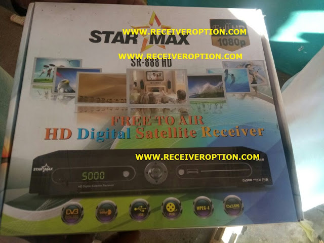 STARMAX SR-888 HD RECEIVER BISS KEY OPTION