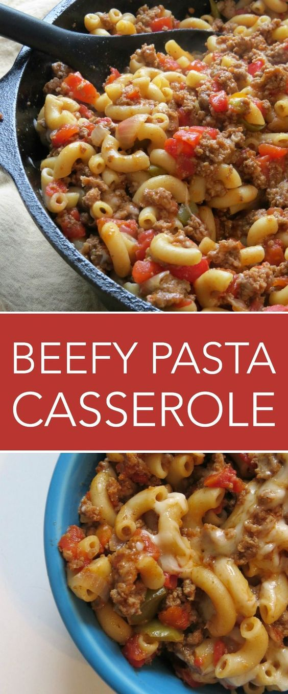THIS GROUND BEEF PASTA CASSEROLE IS A FAMILY FAVORITE! #recipes #dinnerrecipes #dishesrecipes #dinnerdishes #dinnerdishesrecipes #food #foodporn #healthy #yummy #instafood #foodie #delicious #dinner #breakfast #dessert #lunch #vegan #cake #eatclean #homemade #diet #healthyfood #cleaneating #foodstagram