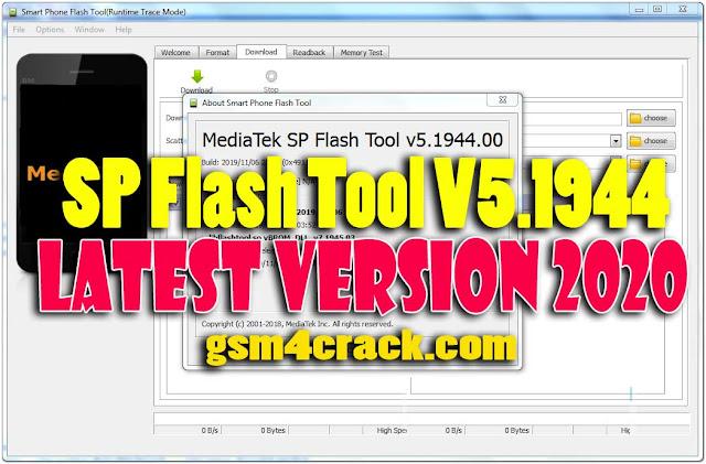 Download SP Flash Tool V5.1944 Latest Version [2020]