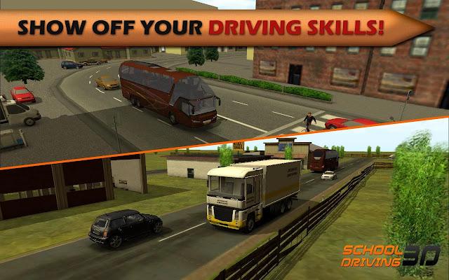 school driving 3d mod apk indir