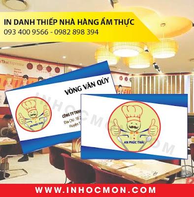 Danh thiếp nhà hàng ẩm thực An Phúc Thái Đồng Nai