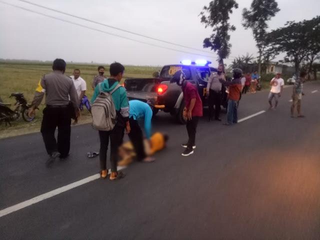 Hukum dan Kriminal, Kecelakaan Lalu Lintas, Polsek Rejoso, Kabupaten Nganjuk, Nganjuk