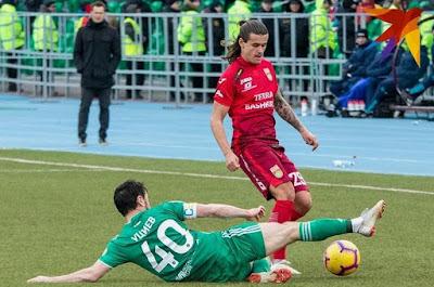 Гол Швеца принёс «Ахмату» победу в гостевом матче с «Уфой»