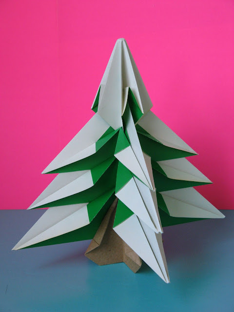 Origami Abete - Fir tree by Francesco Guarnieri