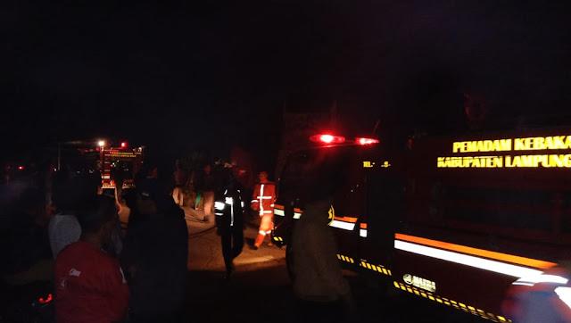 Arus Pendek Listrik, Diduga Penyebab Kebakaran