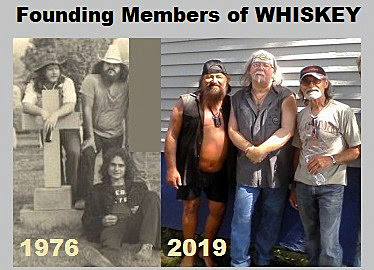 The Whiskey Band then 1976... & now 2019