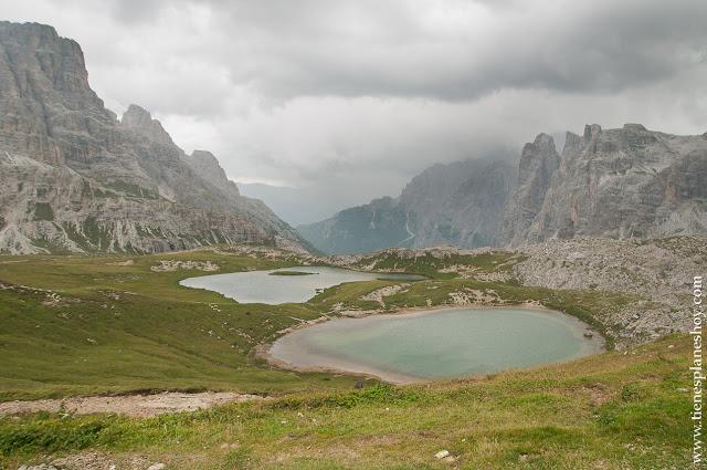 Tres Cimas Lavaredo Ruta Dolomitas Italia trekking