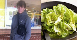 19χρονος πήγε να σφάξει την οικογένειά του επειδή του έδωσαν να φάει σαλάτα για βραδινό