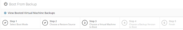Altaro: Boot from Backup