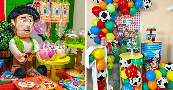 Ideas para Decorar Fiesta de Cumpleaños: La Granja de Zenón