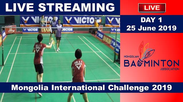 Live Badminton Mongolia International Challenge 2019