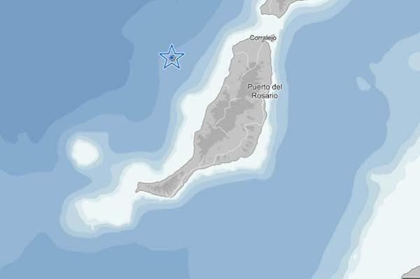 Terremoto Noroeste Fuerteventura, 12 abril