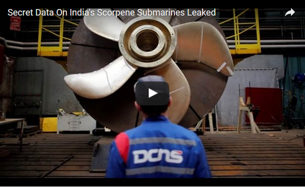 secret Data On India's Scorpene Submarine Leaked