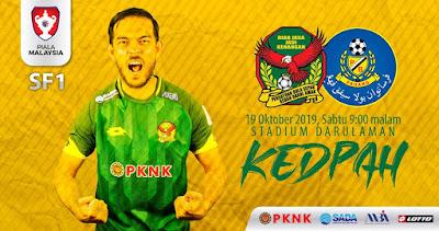 Live Streaming Kedah vs Pahang Piala Malaysia 19.10.2019