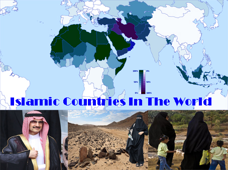 Islamic Countries In The World