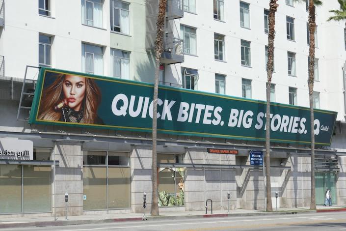 Chrissys Court Quibi series billboard