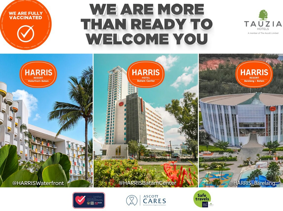 Harris Hotels Batam Sukseskan Vaksinasi Kedua, Siap Sambut Tamu