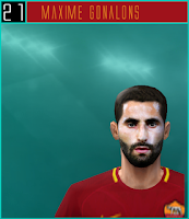 PES 6 Faces Maxime Gonalons by Dewatupai