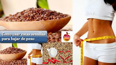 Cómo usar estas semillas para bajar de peso