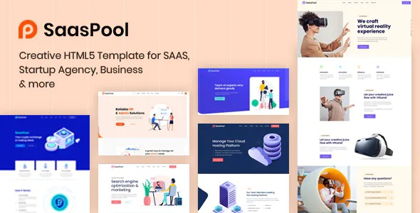 Download Saas, Startup & Agency HTML5 Template