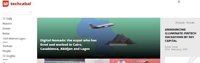 Top Blog in Nigeria - TechCabal