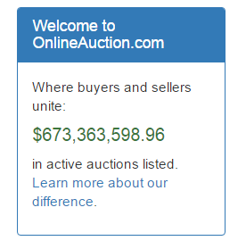 OnlineAuction.com on Not my favorite List
