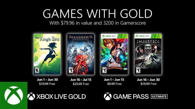 τα δωρεάν παιχνίδια του ιουνίου για το Xbox