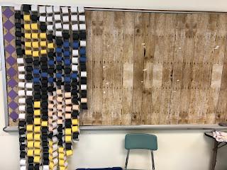 paper chain mosaic