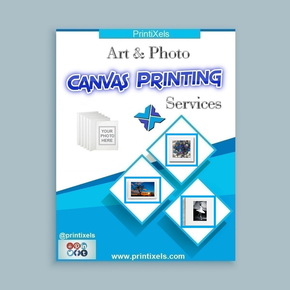 Art & Photo on Canvas Printing Services