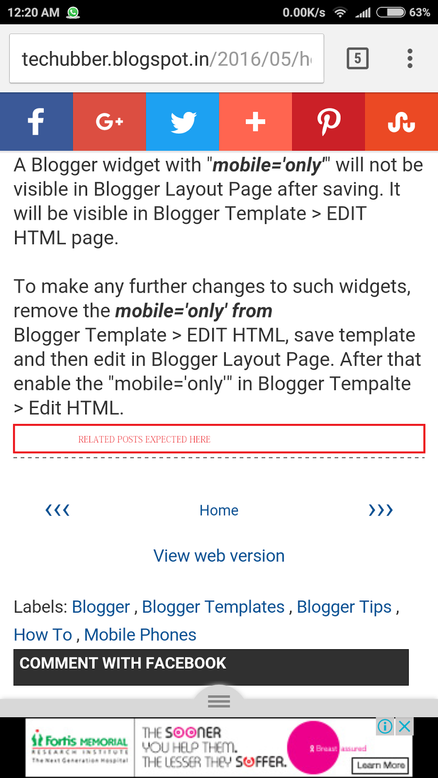 Gmail theme not appearing - How To Fix Blogger Related Post Or Link Within Widget Not Appearing On Mobile Devices