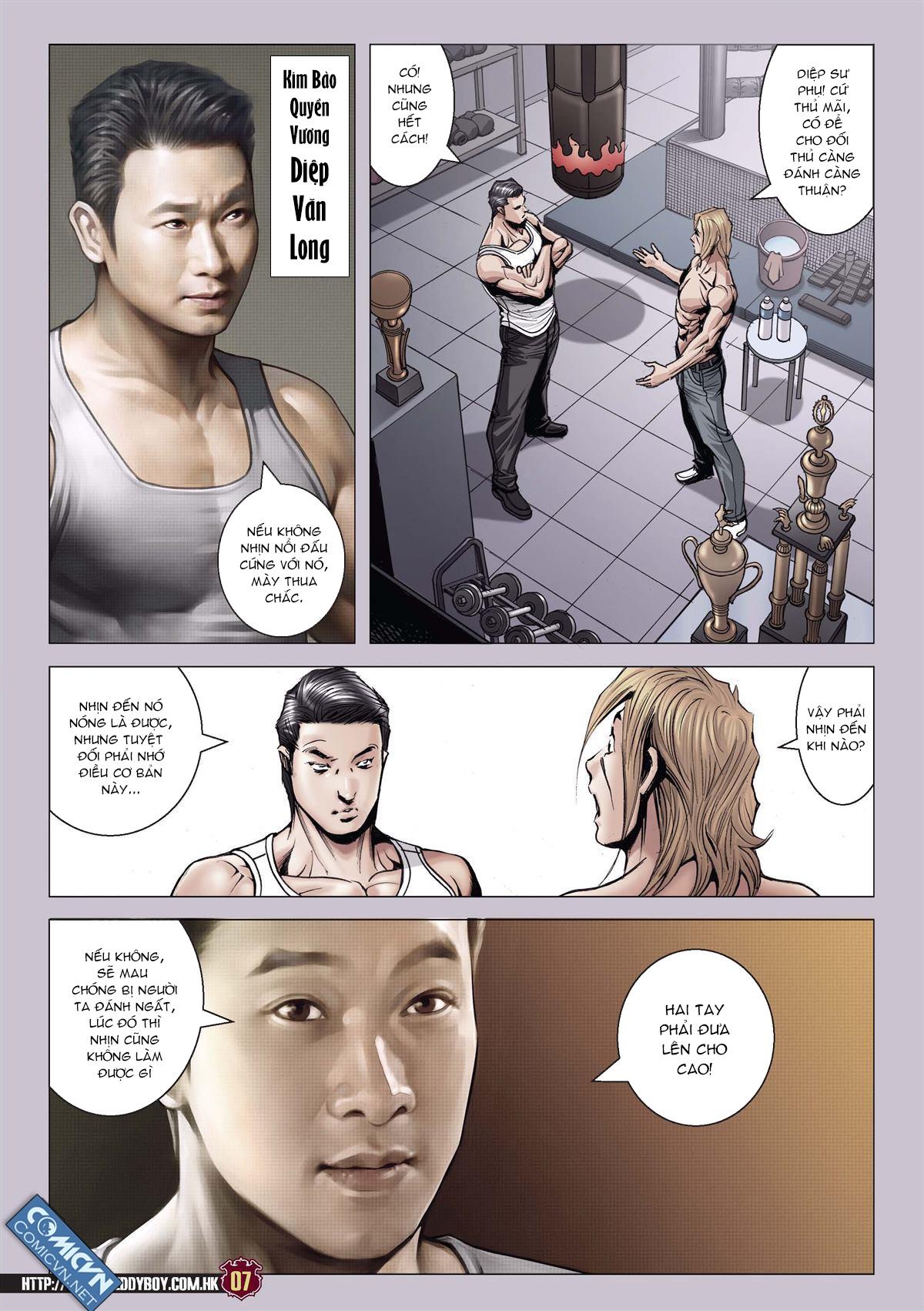 Người Trong Giang Hồ chapter 2137: tiền lộ nan hành trang 6