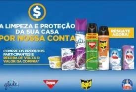 Promoção Produtos SC Johnson 2020 Limpeza e Proteção - Reembolso