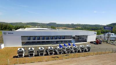Volvo lança concessionária em Santa Catarina
