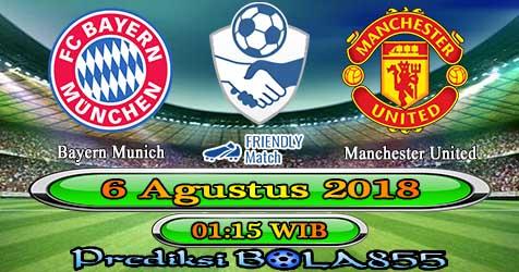 Prediksi Bola855 Bayern Munich vs Manchester United 6 Agustus 2018