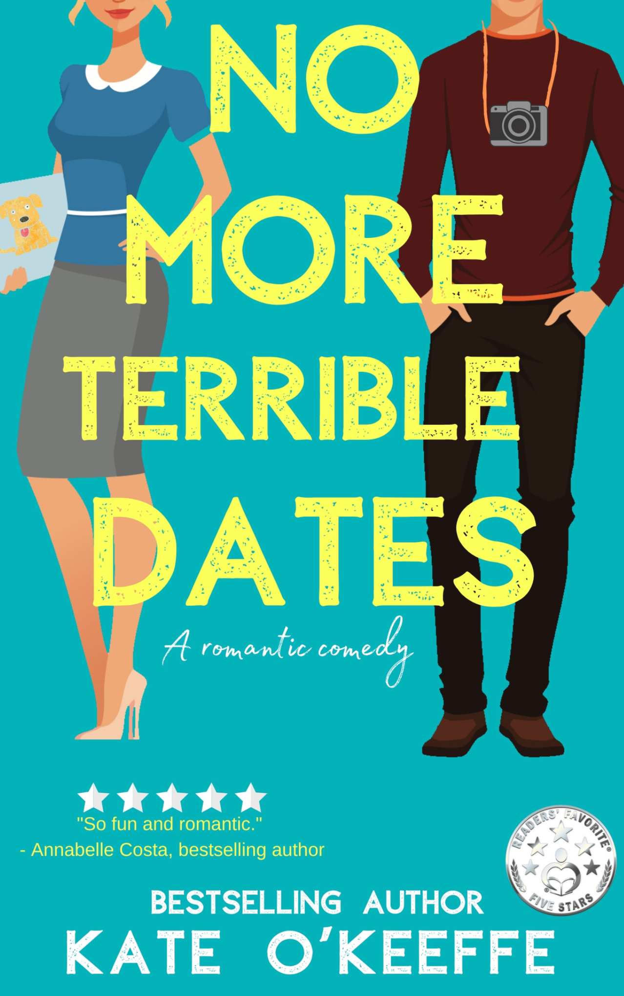Book Review - No More Terrible Dates by Kate O'Keefe