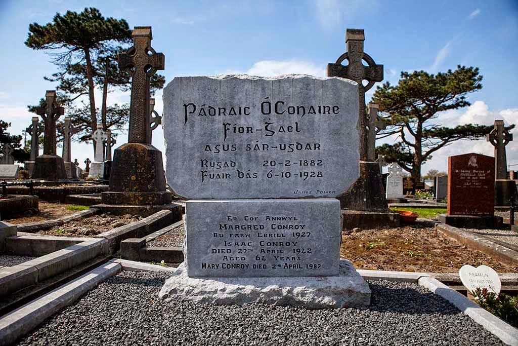 Grave of Pádraic Ó Conaire