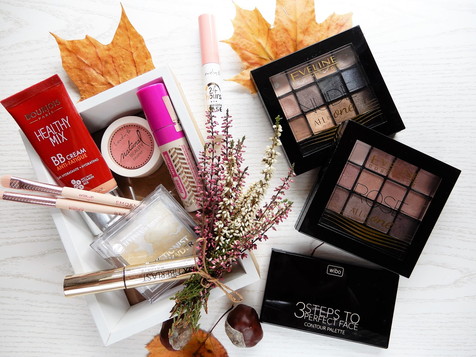 Ulubione kosmetyki do codziennego makijażu