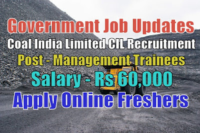 Coal India Limited Recruitment 2020
