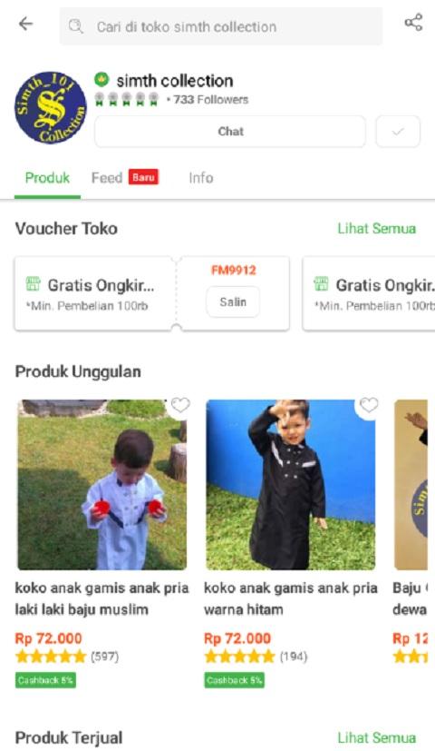 Smith Collection Sebagai Toko Baju Muslim Anak Terlaris di Tokopedia